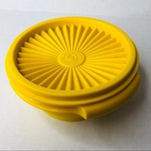 3/$50 Vintage Tupperware yellow mini bowl + lid